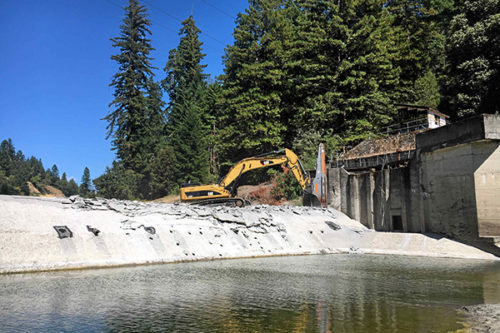 Benbow Dam Removal Began August 1