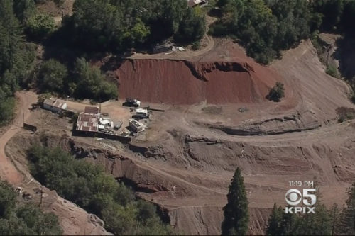 Abandoned Mine Near Russian River Has Alarmingly High Levels of Mercury
