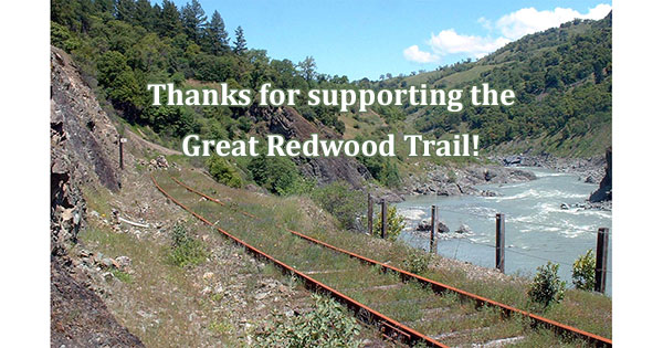 Governor Brown Signed the Great Redwood Trail Bill!