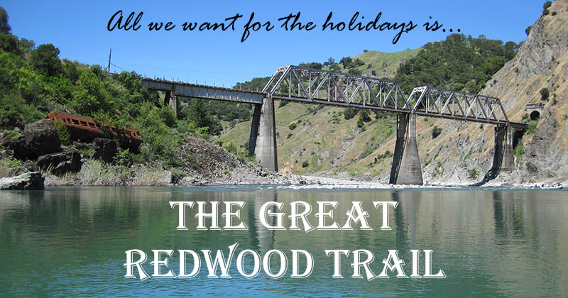 All We Want for the Holidays is the Great Redwood Trail